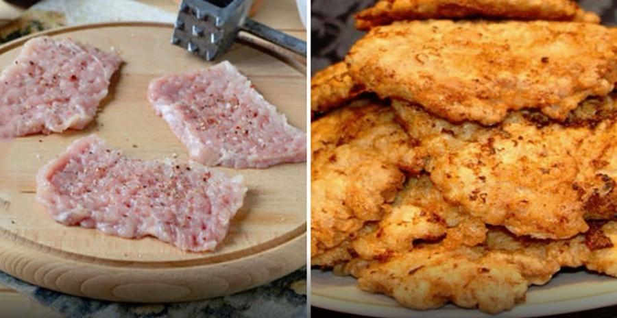 A szomszédasszonyom rántott húsa mindig finomabb volt, mint az enyém. Kiderült, miért.