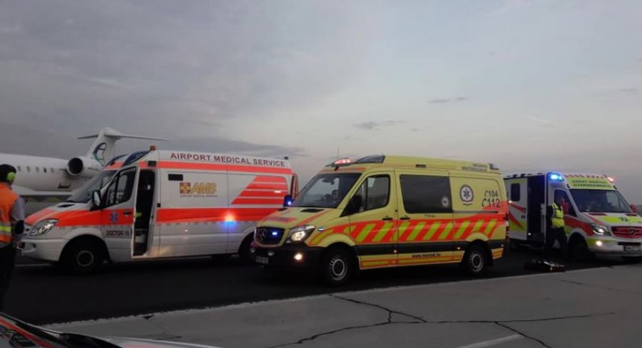 FRISS HÍR: Kényszerleszállás történt Budapesten a Liszt Ferenc repülőtéren: