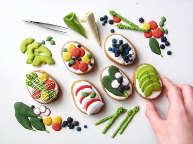 Egy Japán sütikészítő mester művészi alkotásaival hódit az édesszájúak körében