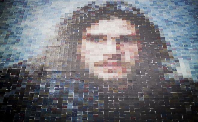 Hatalmas Jon Snow portré. Nem találnád ki, hogy hogyan készült!