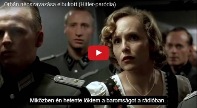 FERGETEGES! Már el is készült az új paródia videó Orbán népszavazási bukásáról!