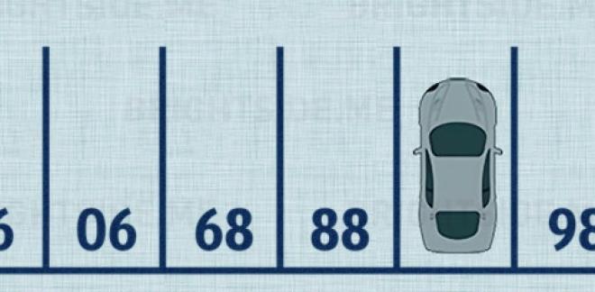 Meg tudod mondani kapásból, hogy milyen szám kerüljön a parkoló autó helyére?