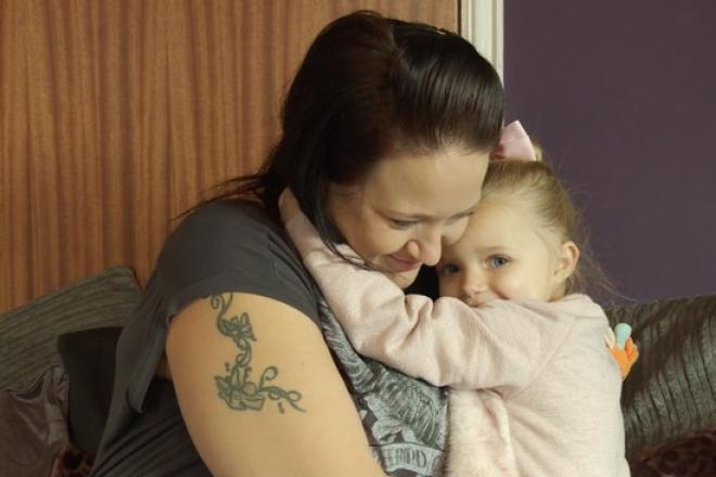 A 3 éves kislány mentette meg az anyukája életét!