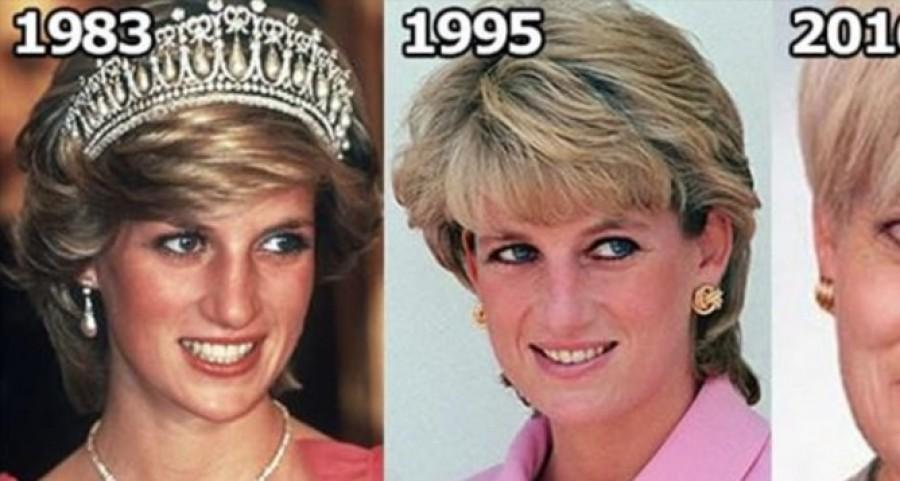 36 éves korában halt meg Diana hercegnő és így nézne ki ha ma is élne!