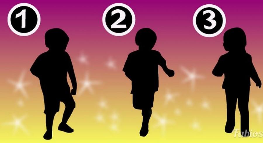 Melyik árnyék lehet egy kislányé? A válaszod sokat árul el rólad!