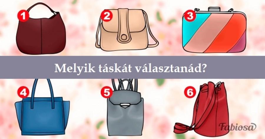 Te melyik táskát választanád? Sok mindent elárul a személyiségedről!