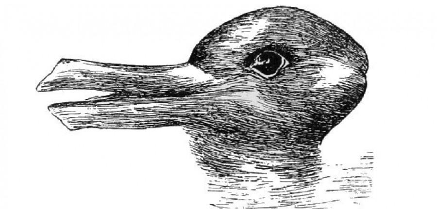 Nyulat vagy kacsát látsz a képen? Ezt árulja el rólad a kép!