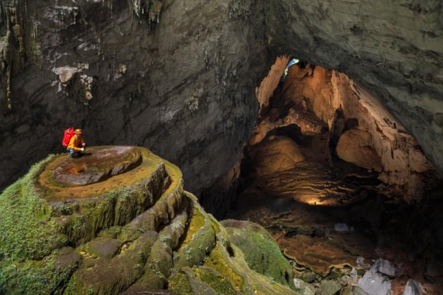 A barlang, ahol közel 20 évig senki nem járt. Mikor leértek elállt a lélegzetük.