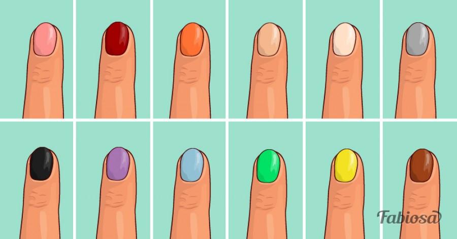 Okosan válassz körömlakkot! Ezt gondolják az emberek bizonyos színekről!