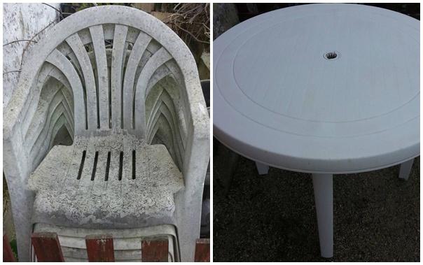 Többé nem kell kidobni a beszürkült műanyag székeket, asztalokat!