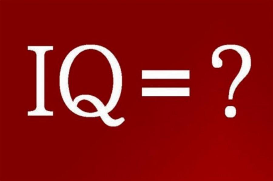 Szuper IQ teszt, mely csak három kérdésből áll!