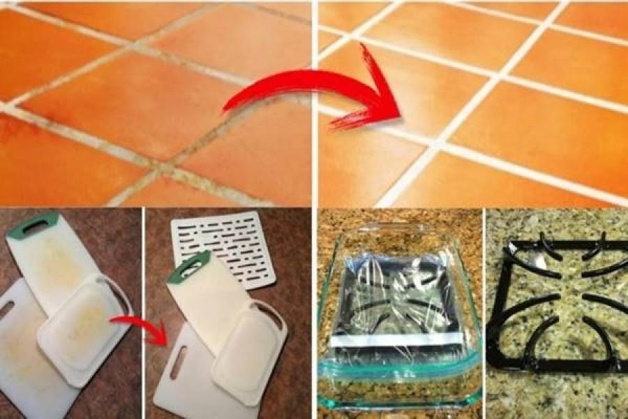 10 nagyszerű takarítási trükk, ami megkönnyíti az életet.