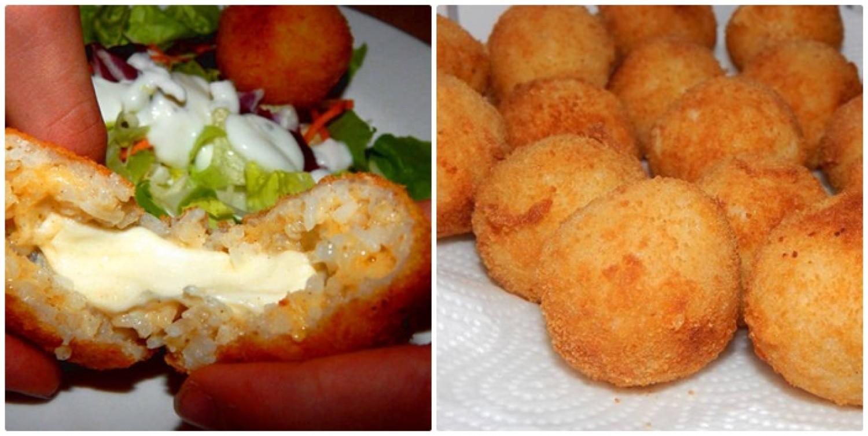 Rántott sajtos rizsgombócok – ellestük az olaszoktól