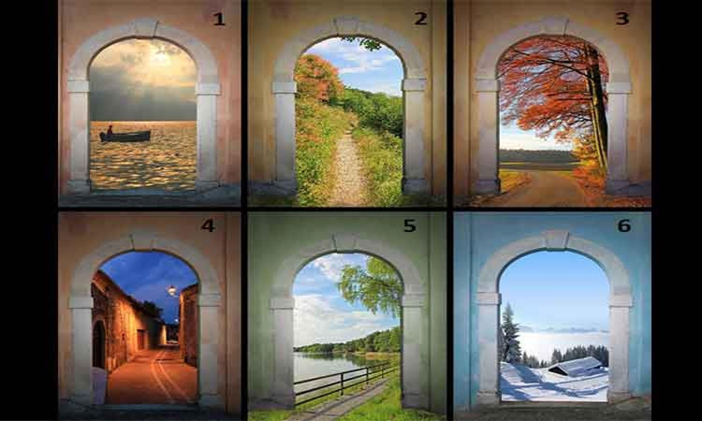 Válaszd ki azt a kaput, amelyiken a legszívesebben átsétálnál