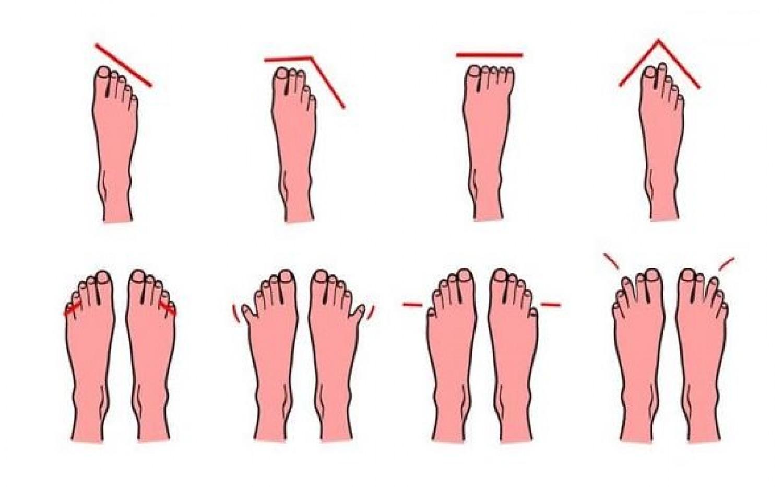 Neked milyen típusú lábad van? Tudd meg, mire utal a bábujjaid formája.