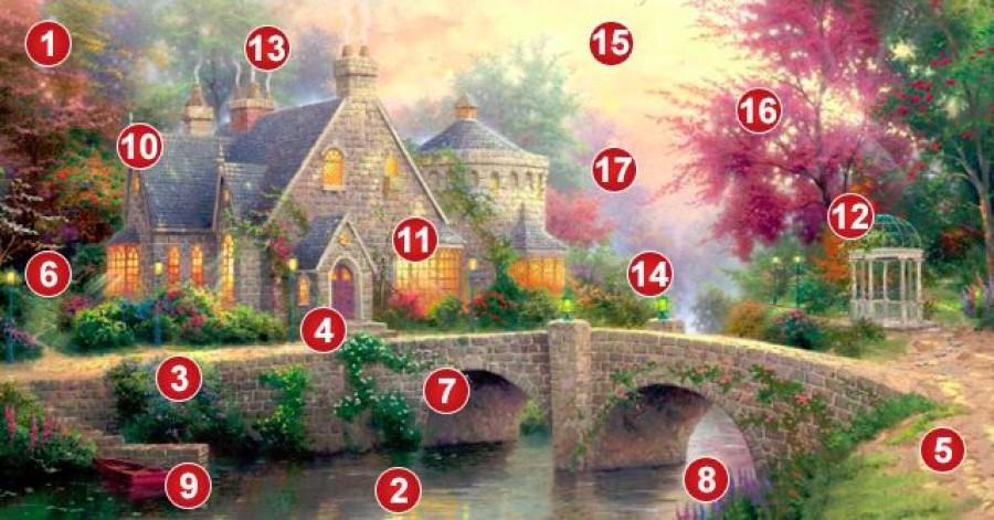 Válassz egy számot erről a varázsképről, és fejtsd meg az üzenetet