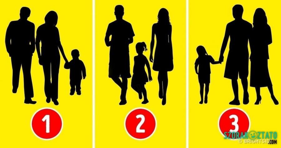 Pszichológiai teszt: kitalálod melyik család nem igazi?